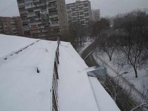 Смонтированные «зимние» воронки
