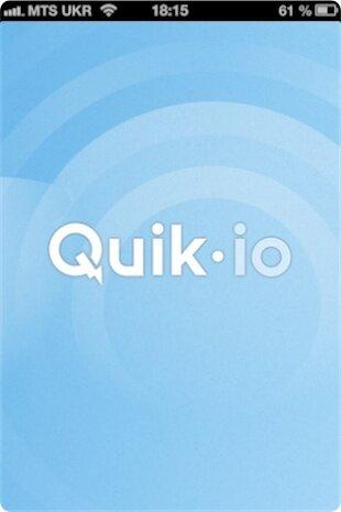 QuikIO для iPhone и iPad