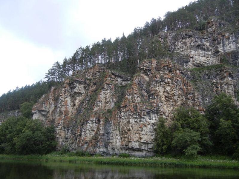 По пути красивые скалы (18.08.2015)