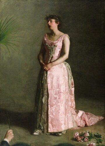 Музей искусств Филадельфии: Thomas Eakins, American, 1844-1916 -- The Concert Singer