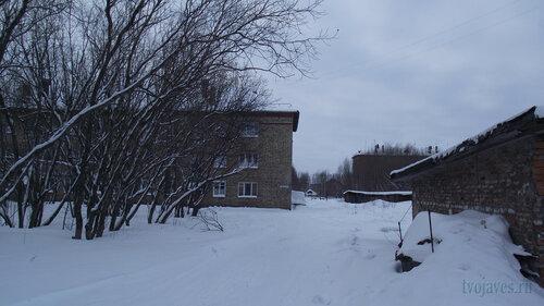 Фото города Инта №2713  Восточная сторона Геологической 4 31.01.2013_13:03