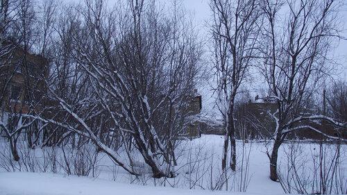 Фото города Инта №2855  Коммунистическая 22, Геологическая 4 и Гагарина 15 31.01.2013_13:37