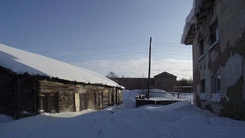 Фото города Инта №3758  Восточная сторона Январской 15а 19.02.2013_12:53