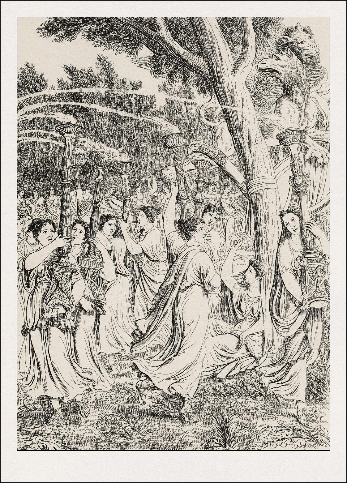 Luigi Adamolli, La divina commedia, Purgatorio