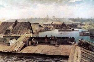 Светославский Сергей Иванович. Разлив Днепра на Оболони. 1900-е