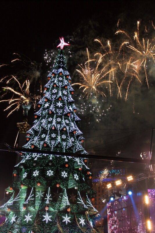Открытие главной елки Киева