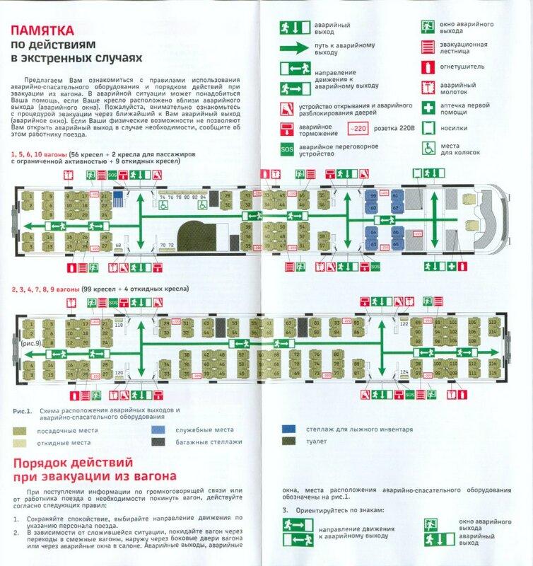 Схема вагонов ласточка петрозаводск санкт-петербург