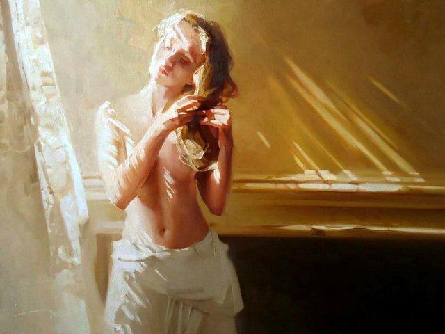Доброе утро, красивая женщина! Чернигин Алексей Александрович