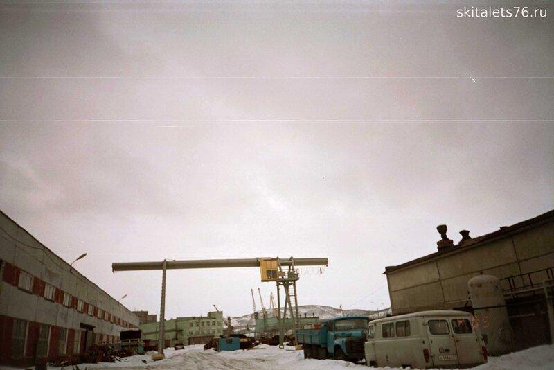 Мурманск, завод
