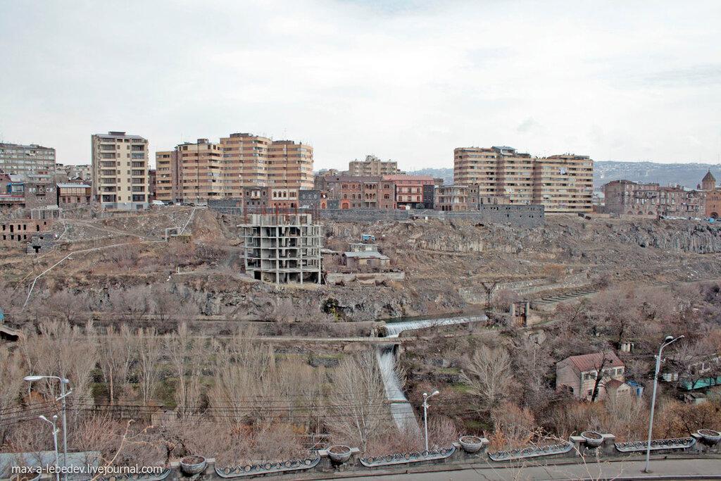 мозаичная схема Еревана.