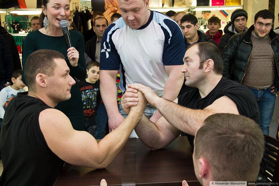 Финал Кулясов против Сабашвили. Армрестлинг в РИО 23 февраля 2013