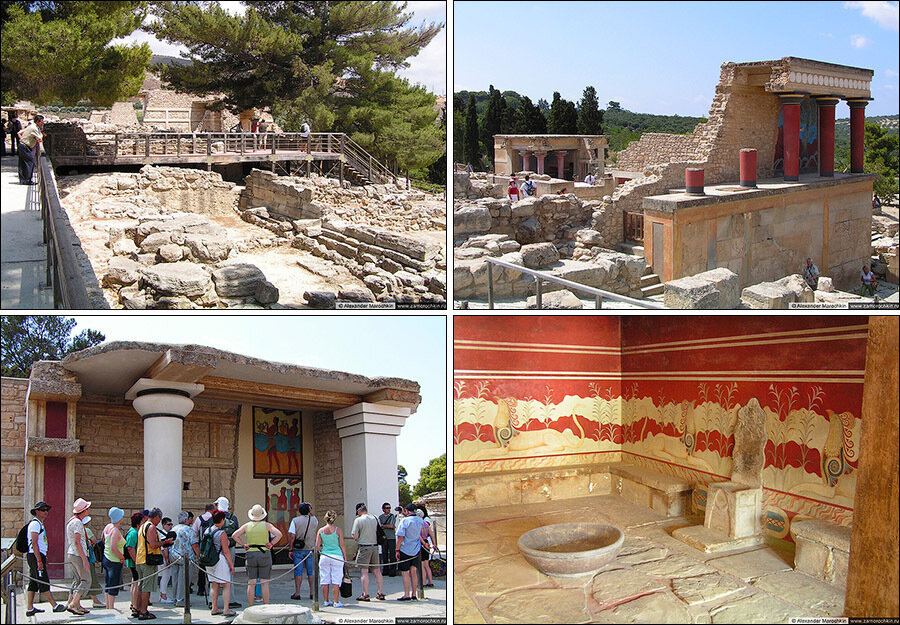 Кносский дворец на Крите, Греция | The Palace of Knossos, Crete, Greece