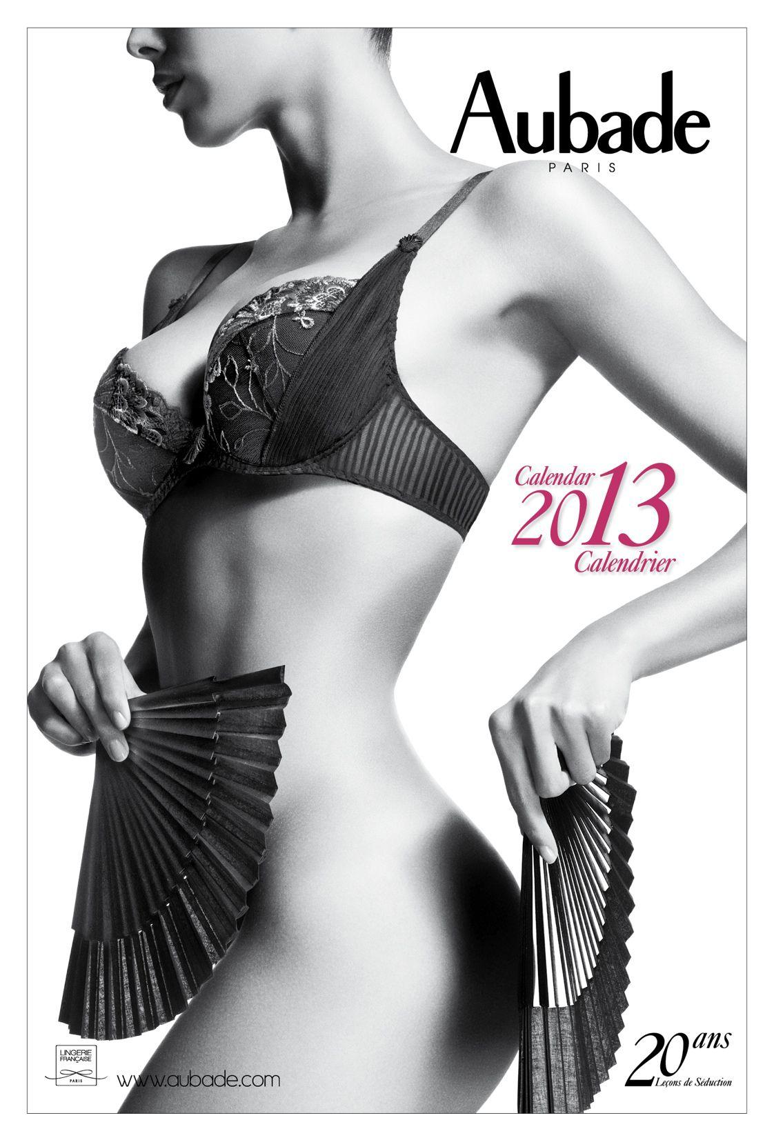Календарь нижнего белья Aubade на 2013 год