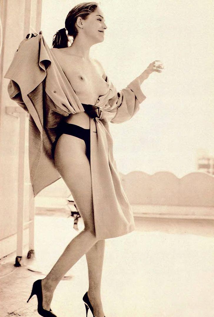 Sharon Stone / голая Шэрон Стоун в журнале Playboy USA july 1990 / фотограф Phillip Dixon