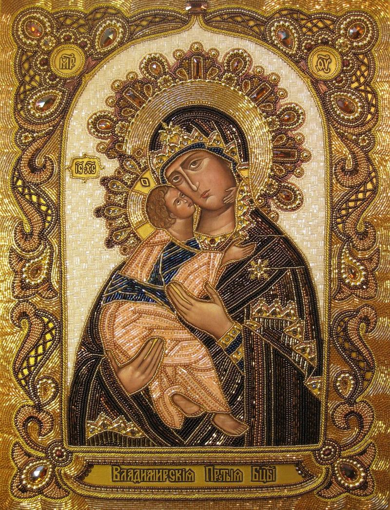 икона владимирская божья матерь: