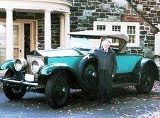 Поездка на  автомобиле Rolls-Royc длиной в 78 лет