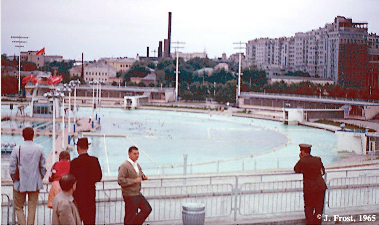 1965. Москва. Бассейн под открытым небом