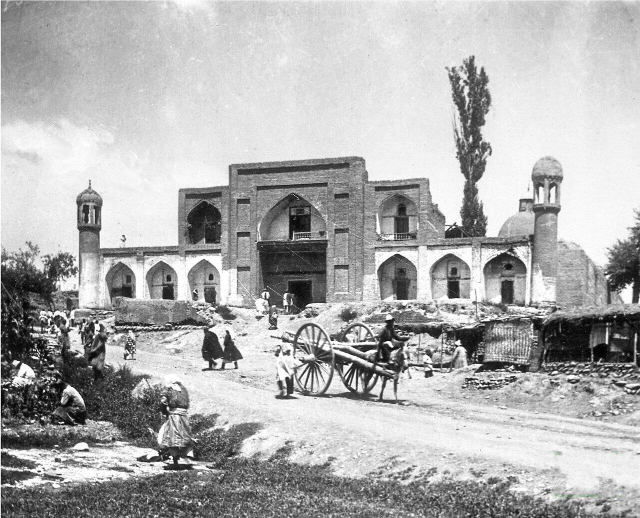 Старая мечеть города Ош. 1904г.
