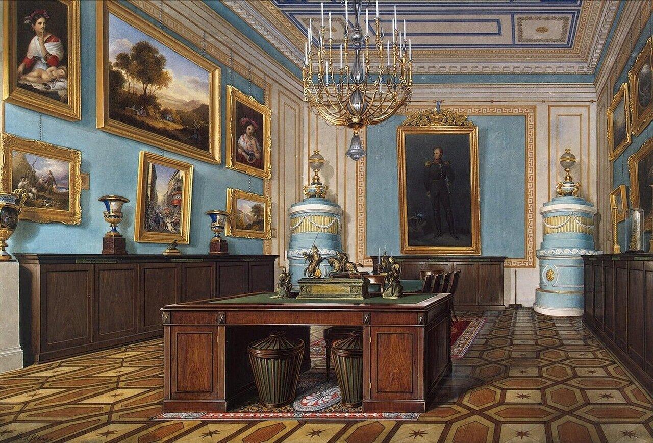Интерьеры Зимнего дворца. Зал совещаний императора Александра I