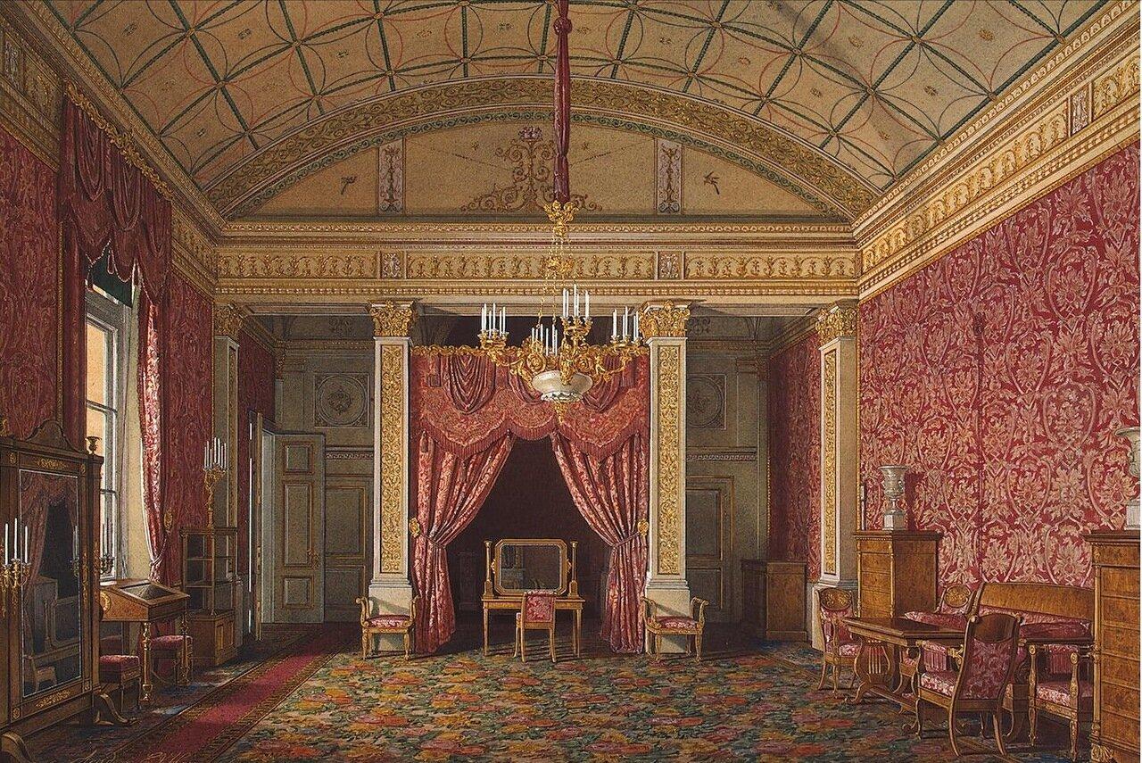 Интерьеры Зимнего дворца. Спальня великой княгини Марии Николаевны