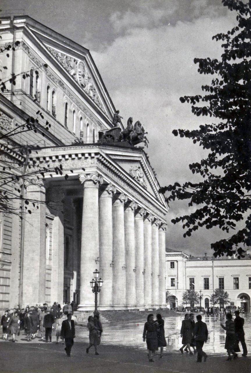 Москва. Большой театр СССР. 1953.