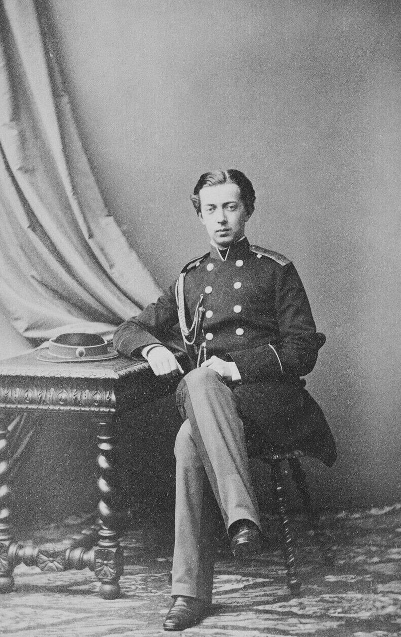 Наследник Цесаревич и Великий князь Николай Александрович, 1861 г.