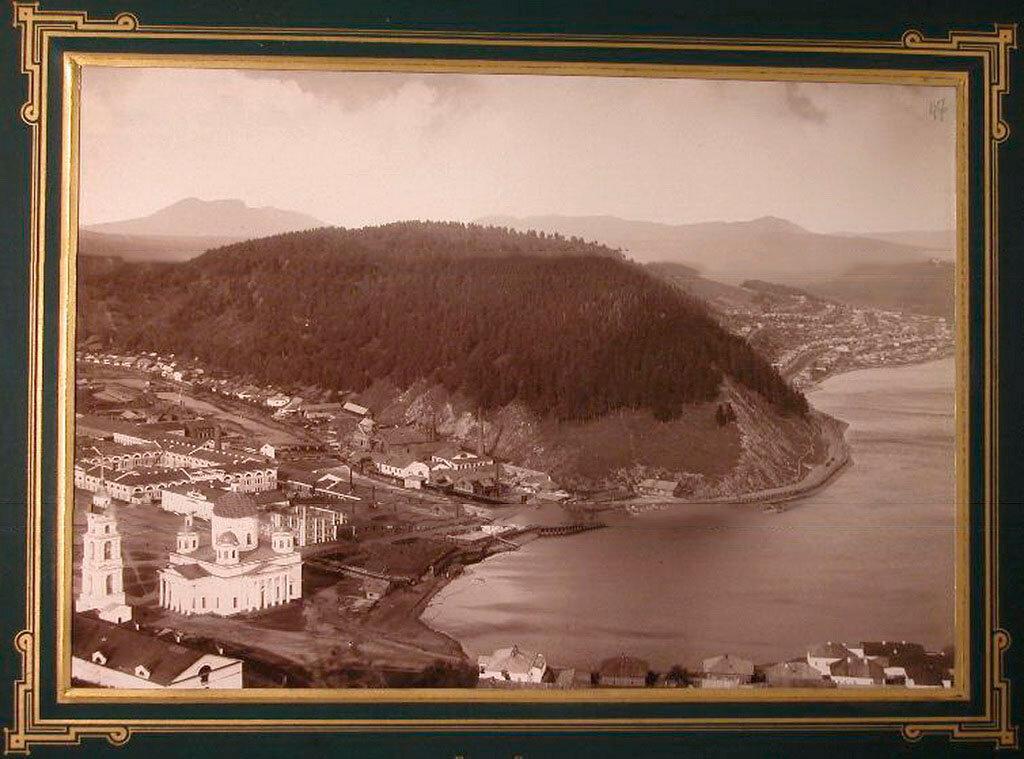 47. Златоуст. Вид на город со стороны реки