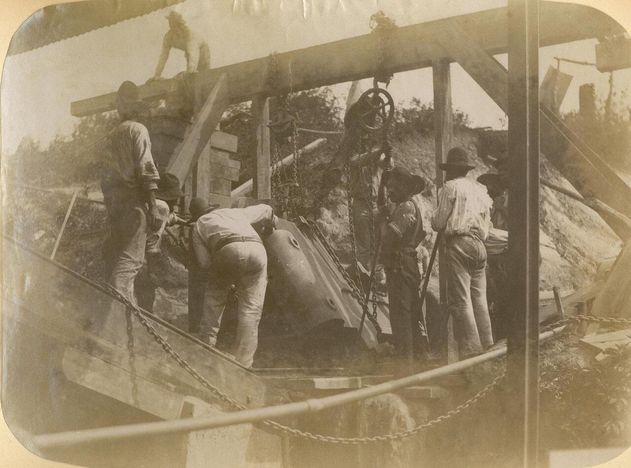 Огромная камнедробилка на случай, когда кувалда не поможет, а динамит навредит, 15 июня 1894