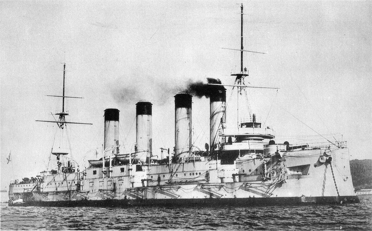 3. Крейсер I ранга Баян, 1903 год