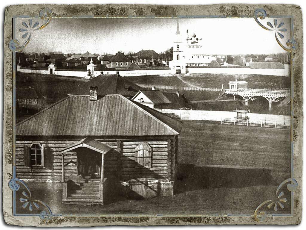 Дмитриевский монастырь. Фотограф В.А.Колотильщиков, 1880 г.