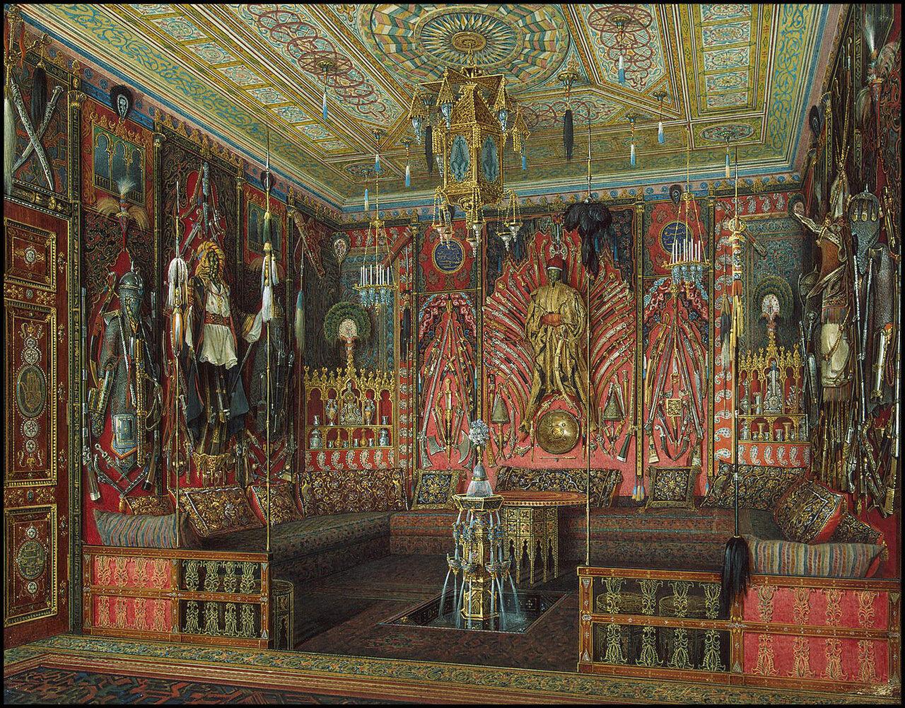 Интерьеры турецкой комнаты в Екатерининском дворце Царского Села
