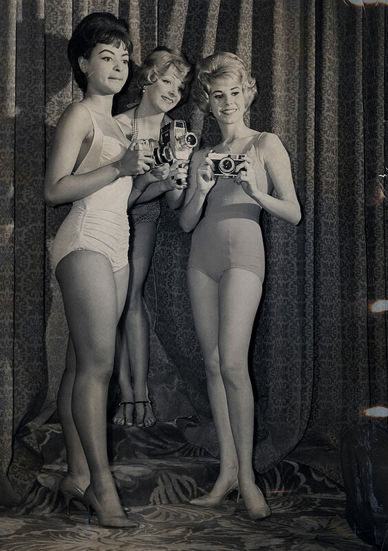 Finalists for the title of Miss Photo Fair '62 pose at the Vanderbilt Hotel