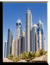 ОАЭ. Дубаи. Dubai Marina, United Arab Emriates, Dubai city. Фото beatrice preve  - Depositphotos