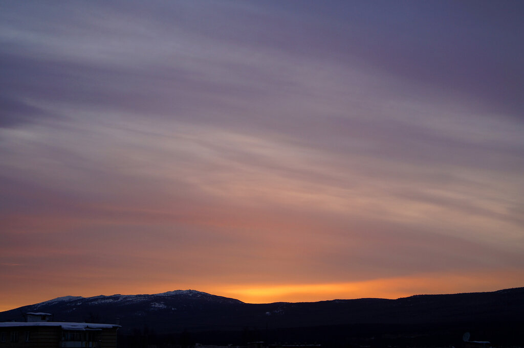 Закат в Златоусте