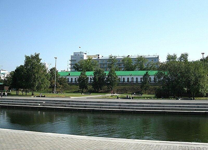 Пешком по Екатеринбургу