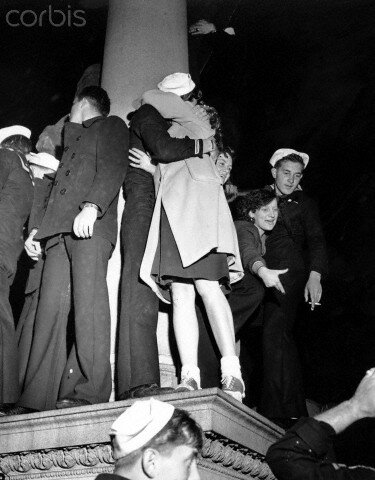 WWII U.S. NAVY JAPAN SURRENDERS
