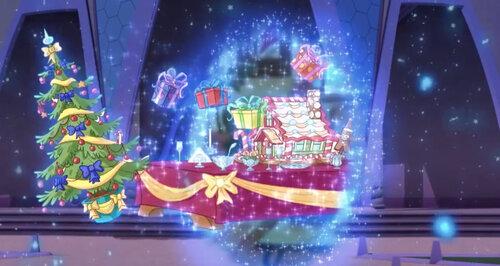 Винкс Рождественская одевалка игра