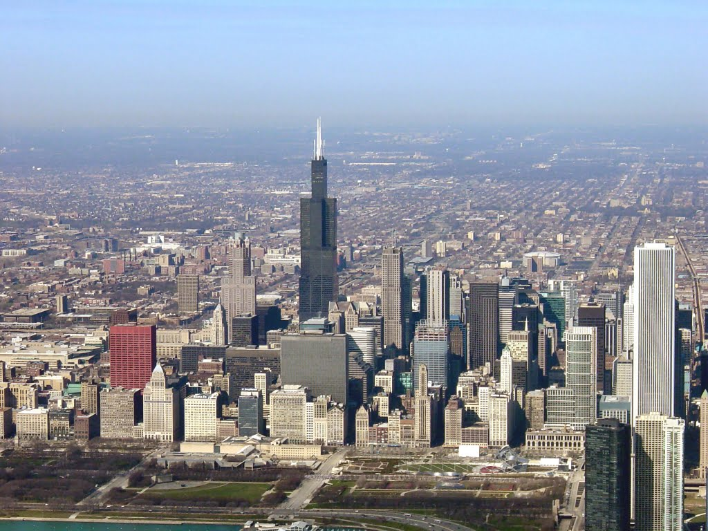 April 3, 2005:  Chicago, Sears Tower