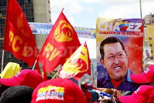 Телефон это то, чем пользуется Уго Чавес, чтобы управлять Венесуэлой