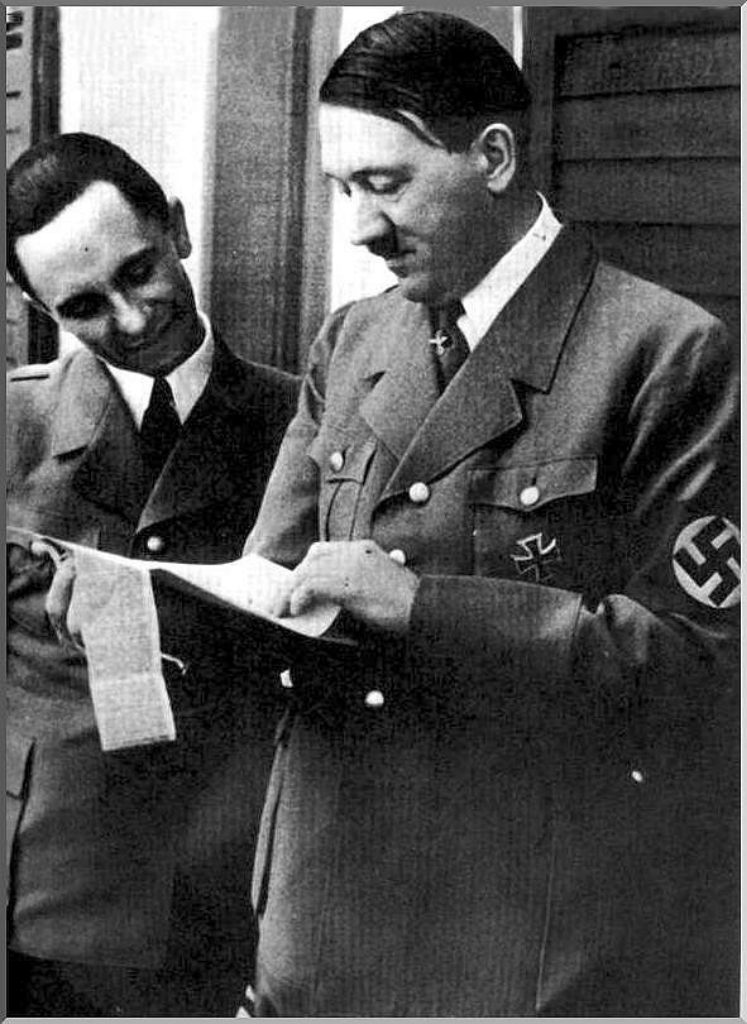 the influence of adolf hitlers propaganda led by joseph goebbels Adolf hitler successfully used propaganda to bring the whole nation under his influence through the constant use of media and communications, he managed to cause a whole nation to think alike to serve his cause as the propaganda minister in nazi germany, joseph goebbels says.