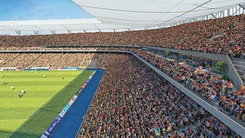 Стадион к чемпионату мира по футболу в Ростове