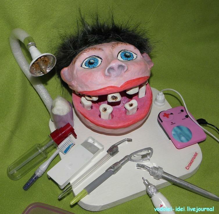 Развивающая игра «Стоматолог» своими руками