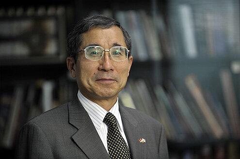 Тошио Цунозаки, посол Японии в Сербии