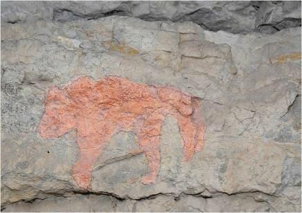 Рисунки древних людей (02.04.2013)