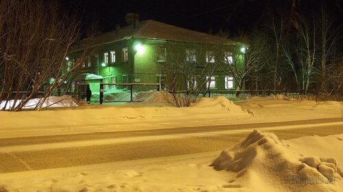 Фото города Инта №2566  Северо-восточный угол Куратова 13 (налоговая) 30.01.2013_17:52