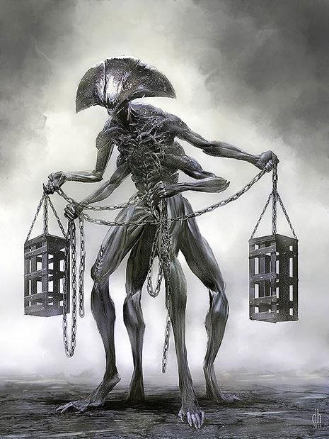 12 знаков Зодиака в образах чудовищных монстров (фото 7)