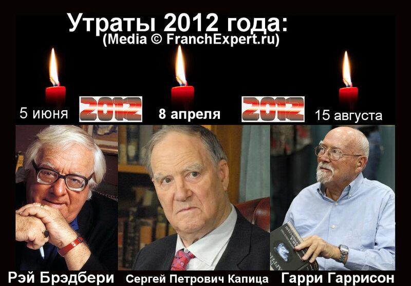 Рэй Брэдбери, Сергей Петрович Капица, Гарри Гаррисон