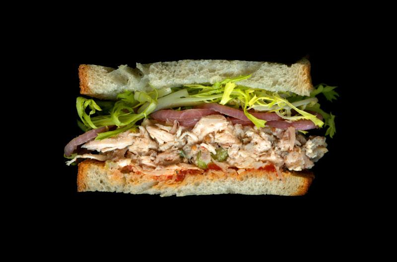 Сечение бутербродов Джон Чонко (Jon Chonko)