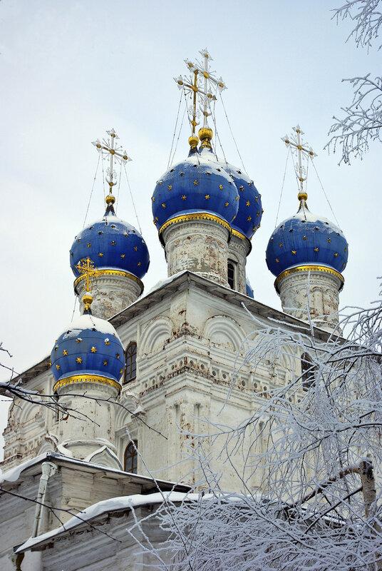 Собор Иконы Казанской Божьей Матери