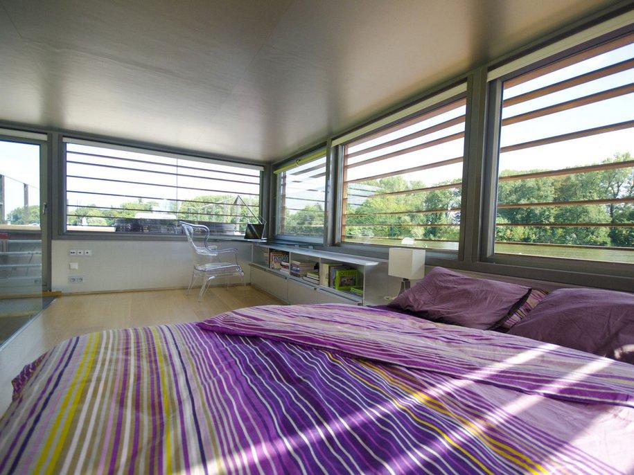 Плавучий дом от Milan Ridky в Чехии